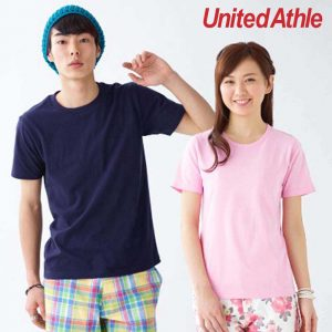 United Athle 5401-01 日本優質潮流全棉 T 恤