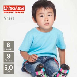 United Athle 5401-02 5.0oz Kids Cotton T-shirt