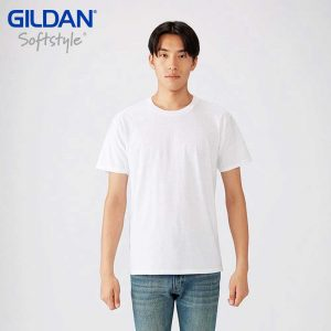 GILDAN 63000 4.5oz SOFTSTYLE 成人環紡 T 恤
