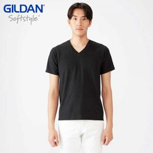 Gildan 63V00 4.5oz SoftStyle Adult V-Neck T-Shirt