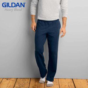Gildan 88400 8.0oz HEAVY BLEND 成人休閒口袋運動長褲