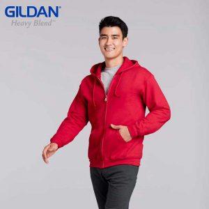 Gildan 88600 HEAVY BLEND 成人連帽拉鏈衛衣
